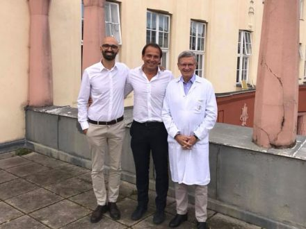 Con il Prof Peter Ritschl a Vienna